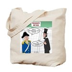Presidents' Day Mattress Sale Tote Bag