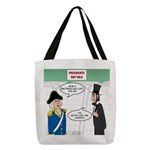 Presidents' Day Mattress Sale Polyester Tote Bag