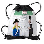 Presidents' Day Mattress Sale Drawstring Bag