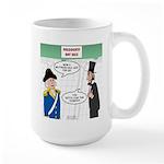 Presidents' Day Mattress 15 oz Ceramic Large Mug
