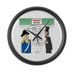 Presidents' Day Mattress Sale Large Wall Clock