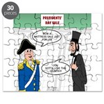 Presidents' Day Mattress Sale Puzzle