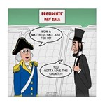 Presidents' Day Mattress Sale Tile Coaster