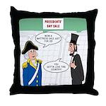 Presidents' Day Mattress Sale Throw Pillow