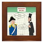Presidents' Day Mattress Sale Framed Tile