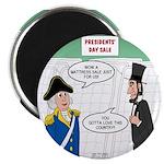Presidents' Day Mattress Sale Magnet