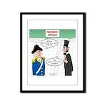 Presidents' Day Mattress Sale Framed Panel Print