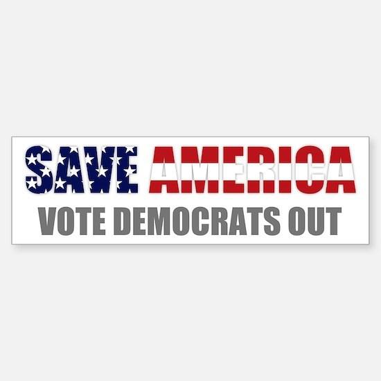 Save America Bumper Bumper Bumper Sticker
