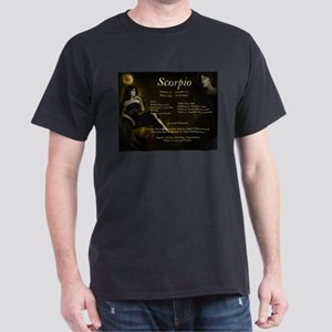 Goddess Scorpio Black T-Shirt