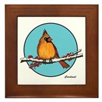 CARDINAL 1b Framed Tile
