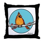CARDINAL 1b Throw Pillow