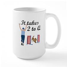 Two 2 Q Large Mug