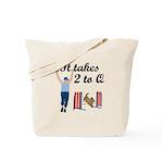 Two 2 Q Tote Bag