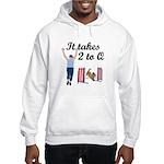 Two 2 Q Hooded Sweatshirt