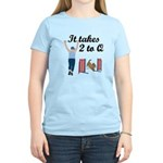 Two 2 Q Women's Light T-Shirt