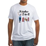 Two 2 Q Fitted T-Shirt
