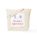 Binary Choice Tote Bag