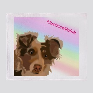 Justice For Shiloh Throw Blanket
