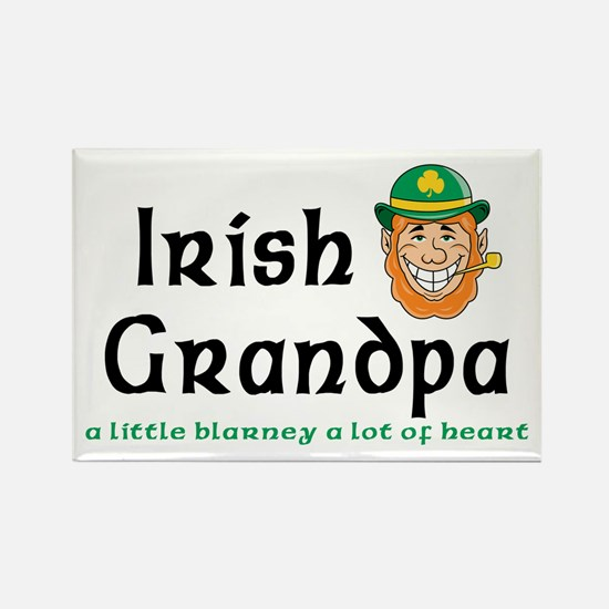 Irish Grandpa Rectangle Magnet