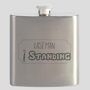 Last Man Standing Flask