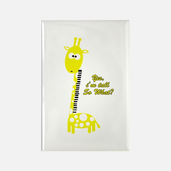 Cool Tall people Rectangle Magnet