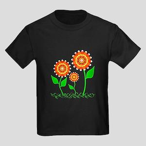 Candy Cornflowers Kids Dark T-Shirt
