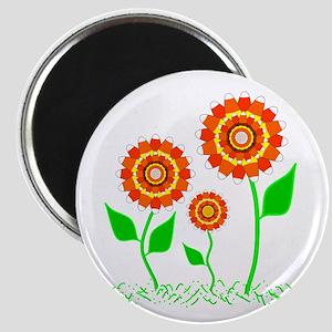 Candy Cornflowers Magnet