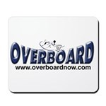 Overboard photo Mousepad