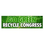 Recycle Congress Sticker (50 PK)
