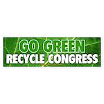 Recycle Congress Sticker