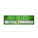 Recycle Congress Postcards (PKG 8)