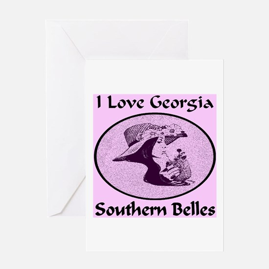 Georgia Southern Belles Greeting Card