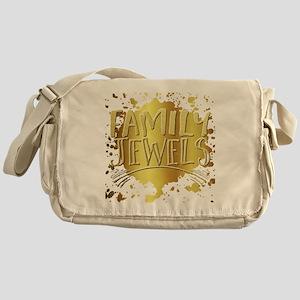 family jewels Messenger Bag