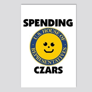 THEY'RE SPENDING YOUR MONEY Postcards (Package of