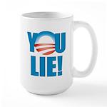 You Lie Large Mug
