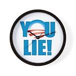You Lie Wall Clock
