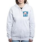 You Lie Women's Zip Hoodie