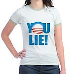 You Lie Jr. Ringer T-Shirt
