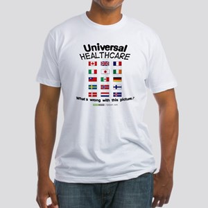 Universal Healthcare Fitted T-Shirt
