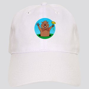 Cartoon Groundhog Cap