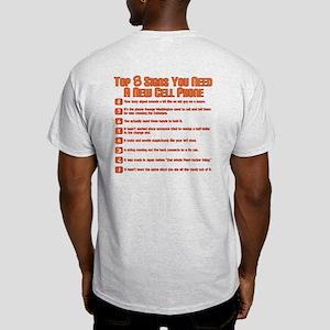 Cell Phone Top 8 Light T-Shirt