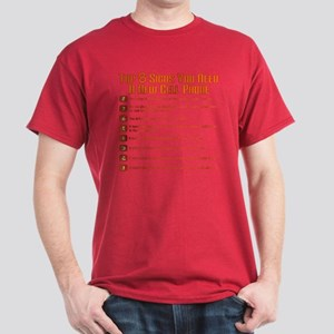 Cell Phone Top 8 Dark T-Shirt