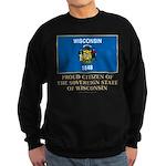 Wisconsin Proud Citizen Sweatshirt (dark)