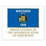 Wisconsin Proud Citizen Small Poster