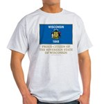 Wisconsin Proud Citizen Light T-Shirt