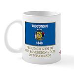 Wisconsin Proud Citizen Mug