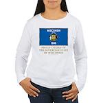 Wisconsin Proud Citizen Women's Long Sleeve T-Shir