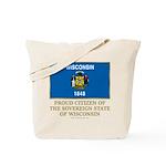 Wisconsin Proud Citizen Tote Bag