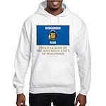 Wisconsin Proud Citizen Hooded Sweatshirt