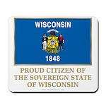 Wisconsin Proud Citizen Mousepad